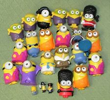 23 MINIONS LOT McDonalds Happy Meal Toys Despicable Me Character Toys Plastic