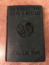The Bobbsey Twins Solve A Mystery by  Laura Lee Hope Copyright 1934