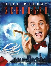 SCROOGED (1988 Bill Murray)  -  Blu Ray - Sealed Region free