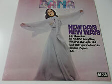 DANA - NEW DAYS NEW WAYS - 1975 VINYL LP MADE IN GERMANY - DECCA LABEL