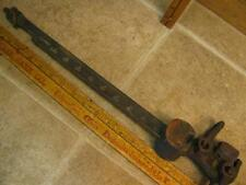 Vintage Brass Scale Balance Beam Platform Barn Scales US Standard