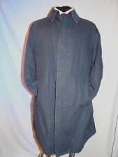BURBERRY -LONDON SMART CLASSIC GENT'S BLUE LIGHTWEIGHT MAC/OVERCOAT UK 38 EU 48