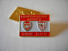 a2 SEVILLA - ARSENAL cup uefa champions league 2007 spilla football pin