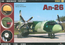 KAGERO TOPSHOT ANTONOV AN-26 CURL TURBOPROP TRANSPORT SOVIET AF WARSAW PACT AFGH
