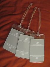 United Airlines UA Gray Tulip Logo Vintage Playing Card Luggage Name Tag Tags 3