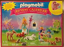 Playmobil 5492 Unicorn Fairyland ADVENT CALENDAR w/Jewelry Box - 99 pcs - NEW