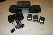 Lot of 3 Motorola Minitor II VHF UHF pager Desk Top Chargers