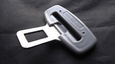 VOLKSWAGEN VW GREY SEAT BELT ALARM BUCKLE KEY INSERT PLUG CLIP SAFETY CLASP STOP