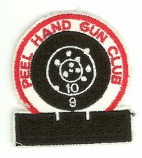Peel Hand Gun Club HTF Vintage Ontario, Canada Fish & Game Handgun Patch