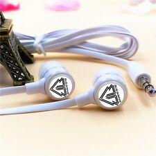 Korean Bigbang Mark Headset HIFI 3.5mm Earphone Headphone