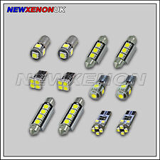 FORD FIESTA MK VII - INTERIOR CAR LED LIGHT BULBS KIT - XENON WHITE