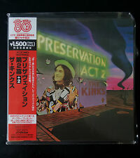 The Kinks - Preservation Act 2 K2 HD Mastering NEU VICP-64253 mini lp style CD