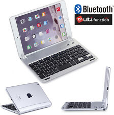 For Apple iPad Mini Slim Aluminum Bluetooth Wireless Keyboard Holder Case Cover