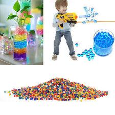 10000X Water Bullet Balls Gun Pistol Toys Crystal Soil Water Beads Mud 9-11mm