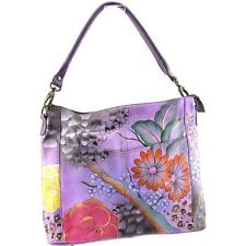Anuschka 32833 Women Purple Shoulder Bag NWOT