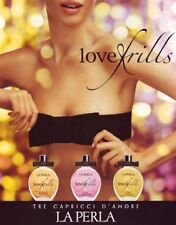 LA PERLA LOVE FRILLS DARK EXTACY EDT SEDUCTIVE FRAGRANCE 100ML RARE DISCONTINUED