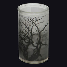 ROOT CANDLE SPOOKY TREE BOTTLE LIGHT HALLOWEEN CANDLE. SPELLBOUND FRAGRANCE.
