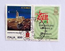 ITALIA 1998 GIORNATA FORZE ARMATE ESERCITO ITALIANO CON APPENDICE USATO