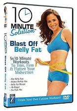 10 Minute Solution - Blast Off Belly Fat (2008) BRAND NEW AND SEALED UK R2 DVD