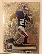 2006 TOPPS CHROME OWN THE GAME TIKI BARBER GIANTS   WM3