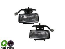 New Pair Set Fog Light Lamp Lens Housing Assembly SAE 97-01 Jeep Cherokee SUV