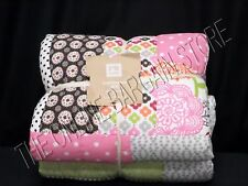 Pottery Barn Teen PBT Bright Blossom Floral Patchwork Quilt Full Queen FQ