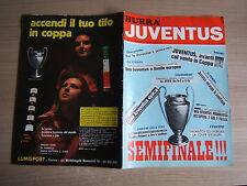 RIVISTA=HURRA JUVENTUS=N°4 1973=SEMIFINALE DERBY COUNTY COPPA CAMPIONI 72/73