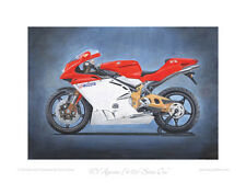 Motorcycle Limited Edition Print - MV Agusta F4 750 Serie Oro Superbike Poster