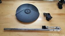 Roland CY-8 Dual Trigger V-Drum Cymbal Pad w/Cymbal Arm & Clamp PX56086