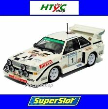SUPERSLOT AUDI QUATTRO SPORT S1 #1 ULSTER RALLY 1985 MOUTON SCALEXTRIC UK 3487