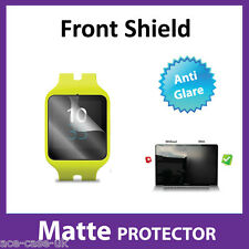 Sony SmartWatch 3 SWR50 MATTE Anti Glare FRONT Screen Protector Military Shield