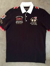 Polo La martina guards polo club col. negro en talla XL