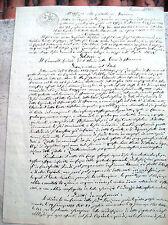 1851 RAVENNA. IMPORTANTE DOCUMENTO AUTOGRAFO DI GIUSEPPE PASOLINI DALL'ONDA