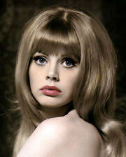 "BRITT EKLUND EKLAND  ACTRESS & MOVIE STAR 8x10"" HAND COLOR TINTED PHOTOGRAPH"