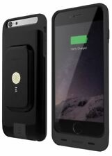 BRAND NEW STACKED IPHONE 6/6S MAGNETIC WIRELESS CHARGER & CASE 2750mAh - BLACK