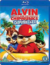 Alvin And The Chipmunks - Chipwrecked (Blu-ray, 2012)