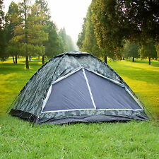 3 Person Gazelle Outdoors Ultralight Backpacking Camping Hiking Tent Camouflage
