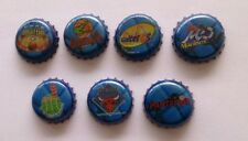 BASQUETBALL Logos LPB RARE Beer 7 Bottle Caps Tappi Kronkorken Crown Coronas NBA