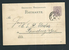 Dt.Reich 1888 - Ganzsache - Dresden - Altstadt nach Ronneburg