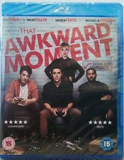 THAT AWKWARD MOMENT (BLU RAY, 2014) BRAND NEW AND SEALED STARRING ZAC EFRON