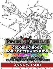 Pirates of the Caribbean Coloring Book for Adults and Kids : Coloring All...