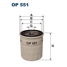 Filtre à huile Filtron op551