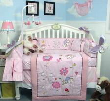 SoHo Happy Fairy World Baby Crib Nursery Bedding Set 13 pcs included Diaper Bag