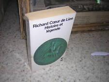1989.histoire légende Richard coeur de Lion.moyen age.envoi autographe