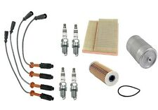 Mercedes W202 C220 94-96 Tune Up Kit Bosch Wire Set NGK Spark Plug Mahle Filters