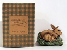 1998 Avon Marjolein Bastin Easter Rabbits Bunny with Baby Magnet NIB