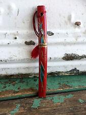 Vintage Red Japanese Miniature Samurai Sword Letter Opener Small Japan knife