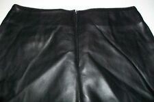 "Sz S - NWOT Tyte ""Faux"" Black PVC Skirt Sz Small"