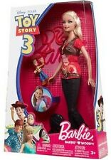 Toy Story 3 Woody Barbie Doll by Mattel Disney NIB NIP