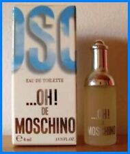 MOSCHINO...OH! DE MOSCHINO EDT 4 ML IN BOX ORIGINAL -VINTAGE PERFUME